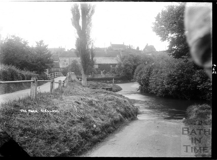 The ford, Wellow, 14 June 1952