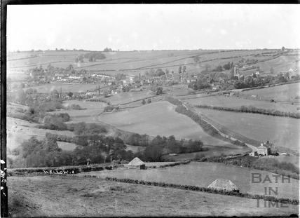 View of Wellow from the hills No. 1, July 1953