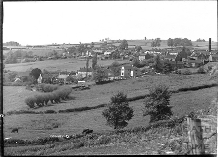View of Wellow from the distance No. 8, 1953