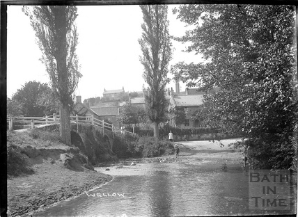 Wellow, the ford, c.1930s