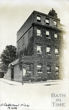 15 Catharine Place, on the junction with Upper Church Street c.1906