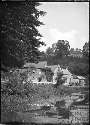 Tucking Mill and the Somersetshire Coal Canal, c.1922