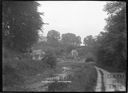 View of Tucking Mill and Somersetshire Coal Canal, c.1922