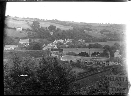 View of Midford c.1922