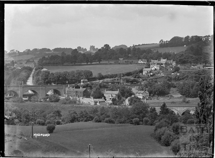 View of Midford looking north, c.1922