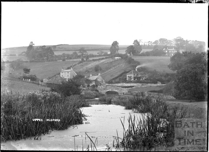 Somersetshire Coal Canal, Upper Midford c.1904