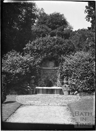 Lions Head, Claverton Manor, c.1930s