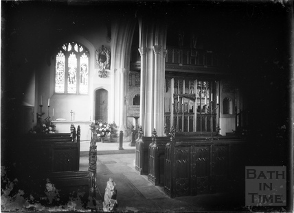 St Julian's Church, Wellow, c.1952