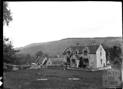 Claverton, The Terrace, c.1906