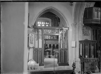 St Julian's Church, Wellow, c.1952