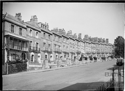 View of East side of Bathwick Hill, c.1930s