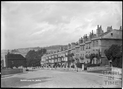 Dunsford Place, Bathwick Hill, c.1938