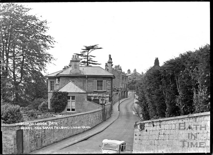 Widcombe Lodge where Henry and Sarah Fielding once lived. c.1920s