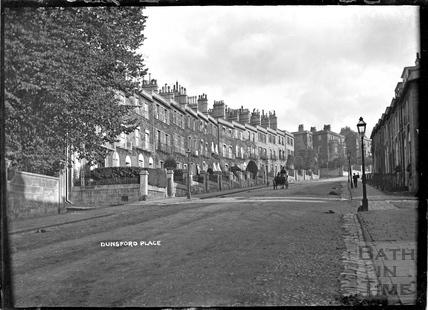 Dunsford Place, Bathwick Hill, c.1910