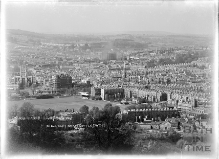 View of Bath from Sham Castle, c.1950