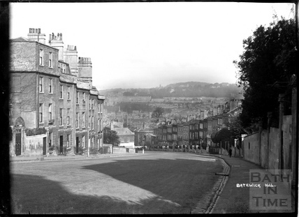 View down Bathwick Hill, c.1938