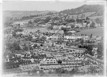 Bathwick from Beechen Cliff No. 2, 2 April 1950