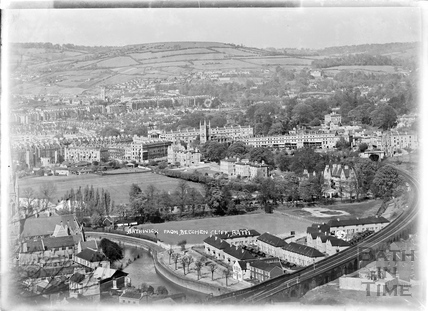 View of Bath from Beechen Cliff, c.1938