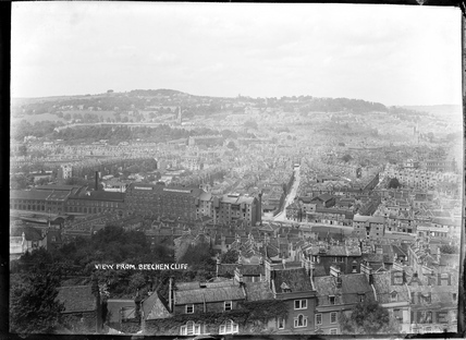 View of Bath from Beechen Cliff, 1906