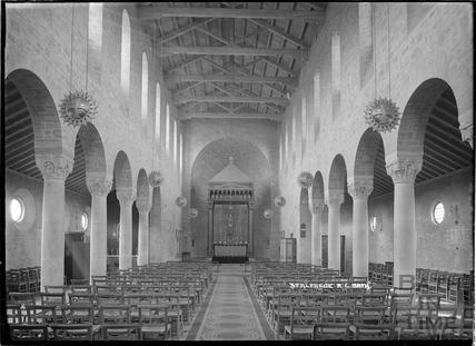 Inside St Alphege Church, Oldfield Park, 9 March 1936