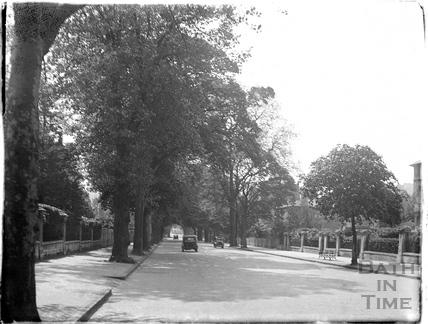 Pulteney Road looking North c.1950