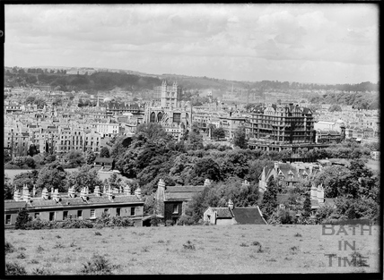 View of Bath looking over Sydney Buildings c.1930s