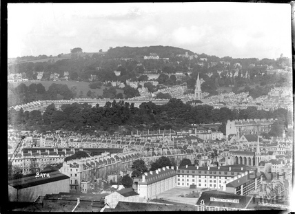 View of Bath from Beechen Cliff, c.1930s