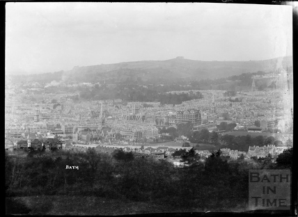View of Bath from Beechen Cliff c.1930s