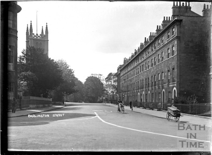 Darlington Street and St Marys Church, Bathwick c.1930s