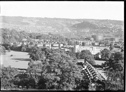 View of Weston from Penn Hill, c.1930s