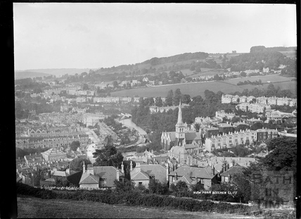 View of Widcombe from Beechen Cliff, c.1910