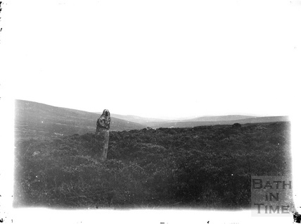 Standing stone, unidentified location c.1930s