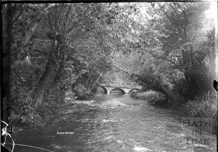 Bridge over the river at Freshford Mill c.1920s