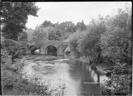 Bridge near the Inn at Freshford No.14 c.1938