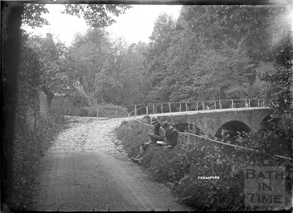 River view, Freshford, c.1920s