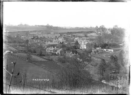 View of Freshford Village, c.1920s