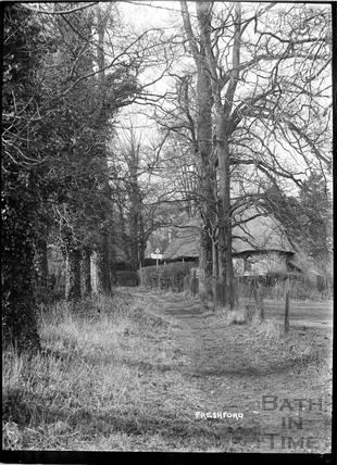 Rustic walk, Freshford, c.1920s