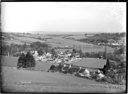 View of the village of Freshford from the south c.1938