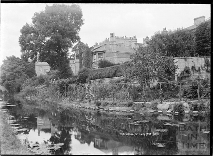 The Kennet and Avon Canal, Sydney Buildings, Bath c.1930s
