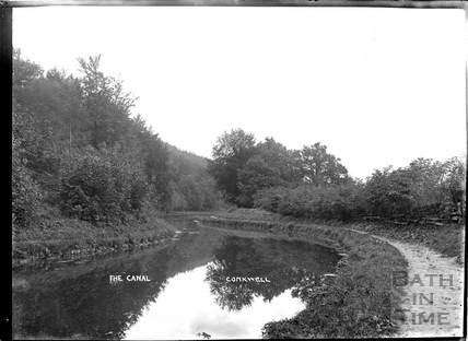 The Kennet and Avon Canal, Conkwell c.1930