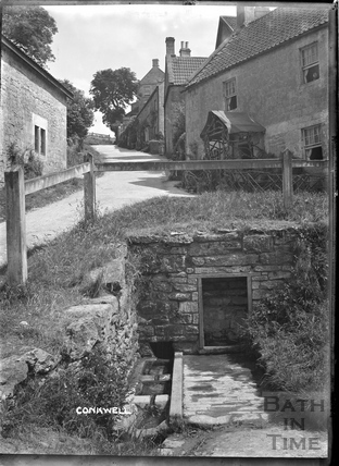 The Wishing Well, Conkwell, c.1910
