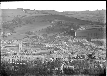 View of Larkhall from the Warminster Road, c.1907