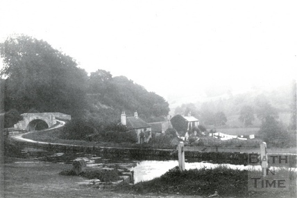 View of the Somersetshire Coal Canal at Tucking Mill c.1870