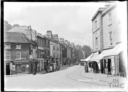 The corner of Claverton Street and Prior Park Road, Widcombe c.1920s