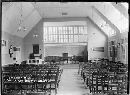 Ebenezer Hall, Widcombe Baptist Chapel c.1920s