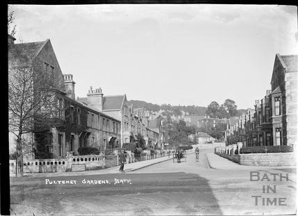 Pulteney Gardens, Widcombe, Bath c.1920
