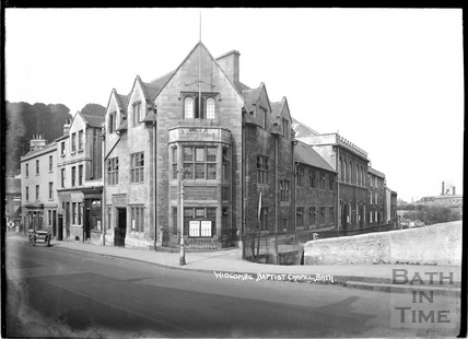 Widcombe Baptist Church c.1920s