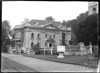 Widcombe Manor and garden c.1928