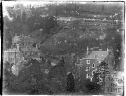 Houses in Lyncombe Vale c.1910