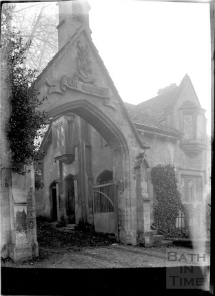 Entrance to The Cloisters, Perrymead c.1910